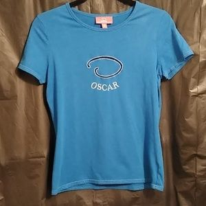 Oscar De La Renta t shirt size m c1